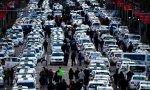 Los taxistas de Madrid viven su octavo día de huelga