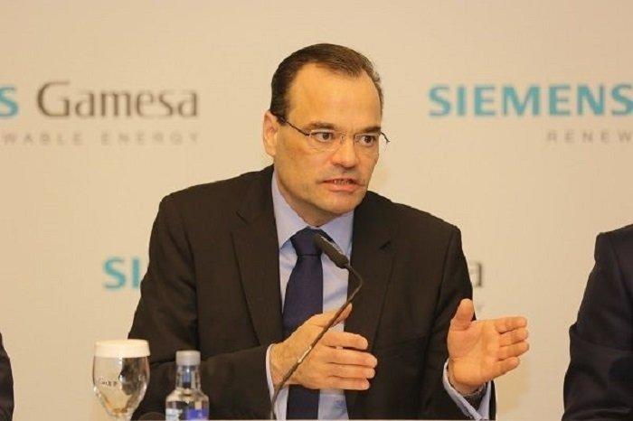 El alemán Markus Tacke es el CEO de Siemens Gamesa, o sea, el que manda