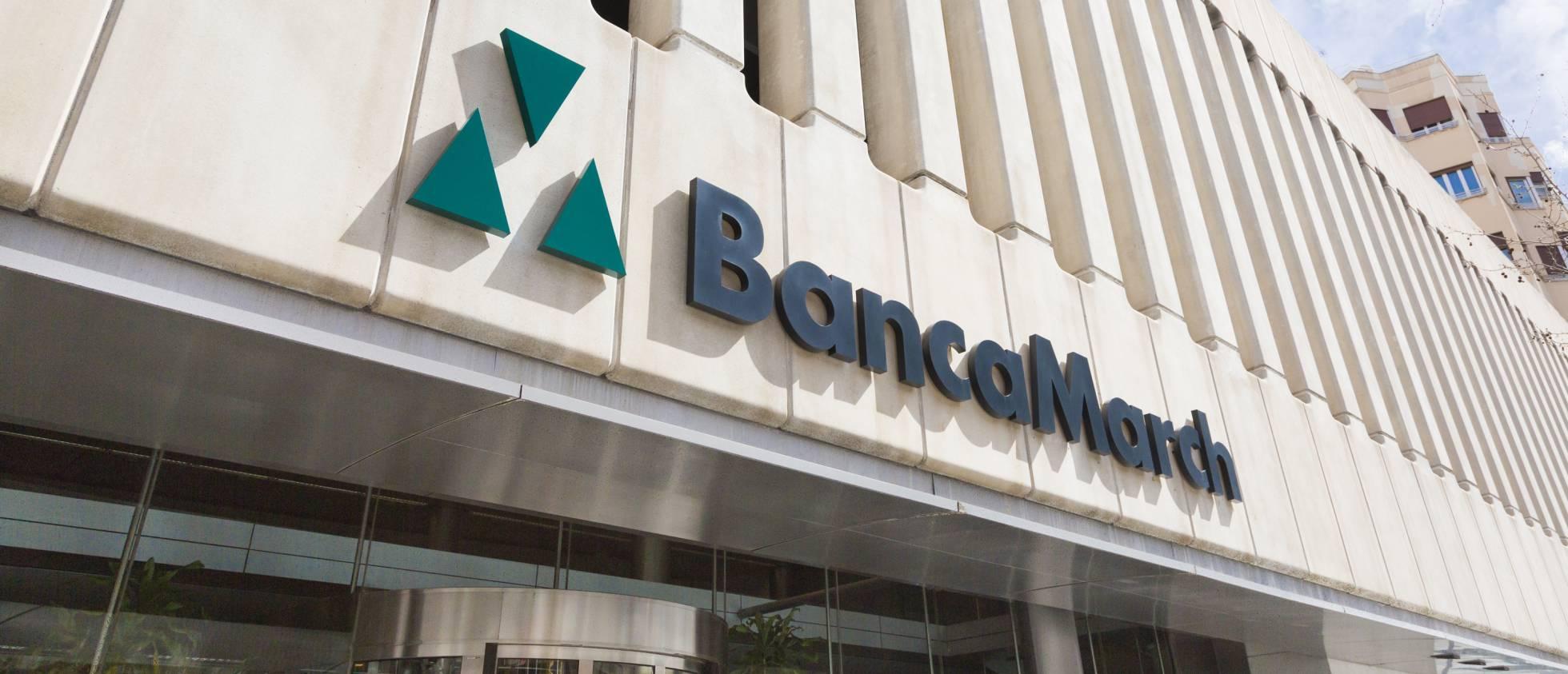 Banca March no escapa de los tipos de interés negativos y gana un 6,9% menos hasta septiembre