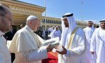 Papa en Abu Dhabi