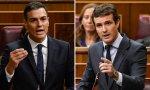 """Casado, a Sánchez: """"Empaquete el colchón de La Moncloa en dos meses"""""""