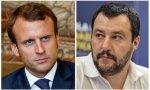 Emmanuel Macron y Matteo Salvini