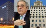 César Alierta abandona su despacho en la central de Telefónica