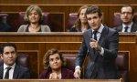 """Sesión de investidura. Casado a Sánchez: """"Dos horas de discurso para no decir nada o casi nada"""""""