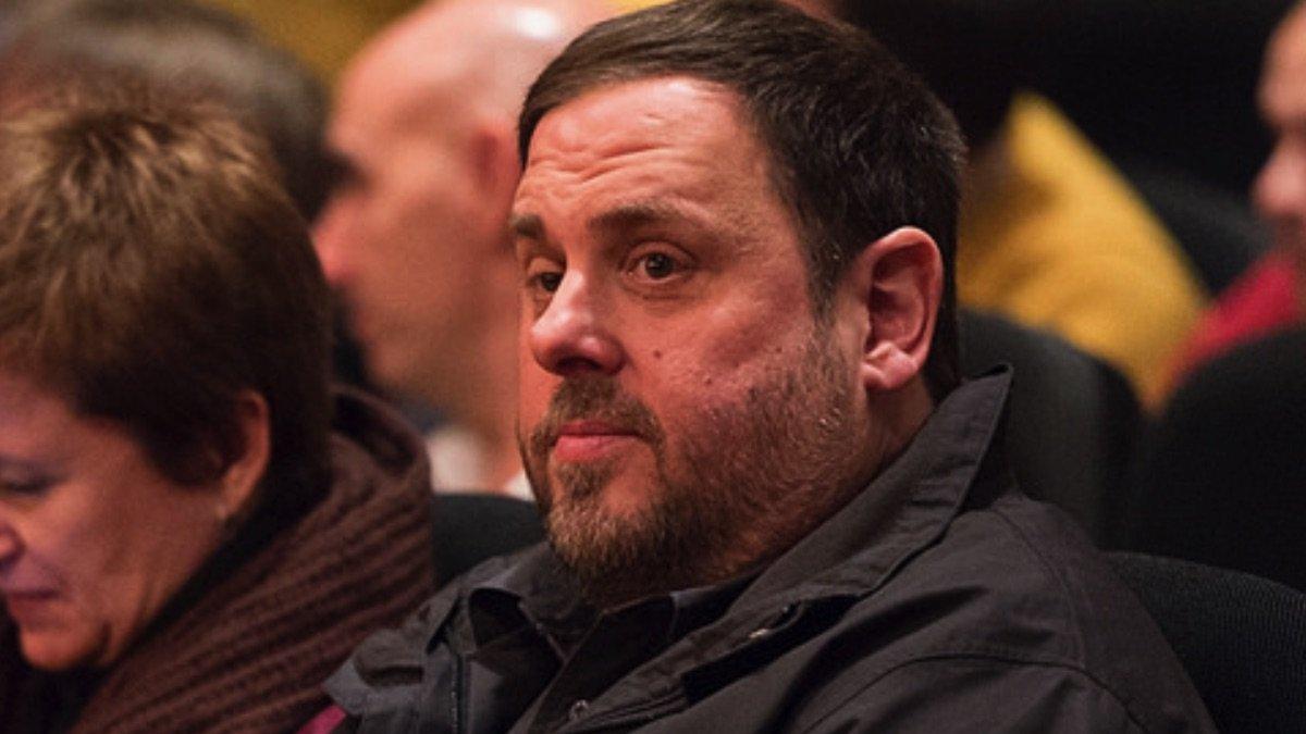 Oriol Junqueras, uno de los catalanes separatistas que están en prisión