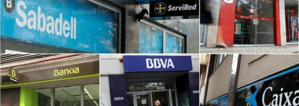 A los grandes bancos les siguen sobrando empleados en España