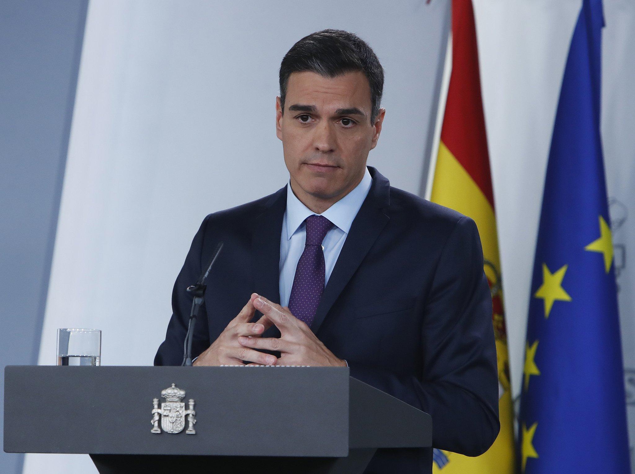 Sánchez convoca elecciones el 28 de abril