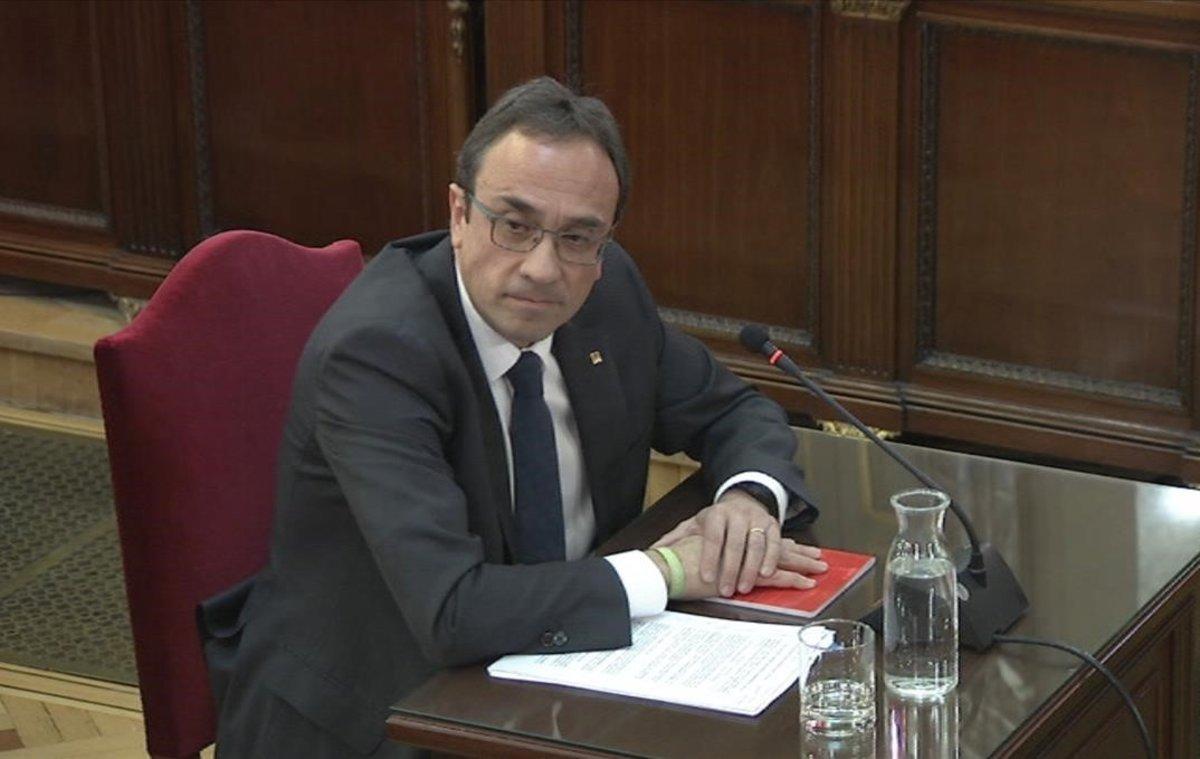 Hoy ha declarado el exconsejero de Territorio y Sostenibilidad, Josep Rull