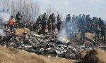 Aviones indios derribados por Pakistán