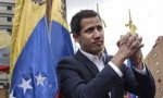El presidente interino de Venezuela, Juan Guaidó, reconocido por el Europarlamento
