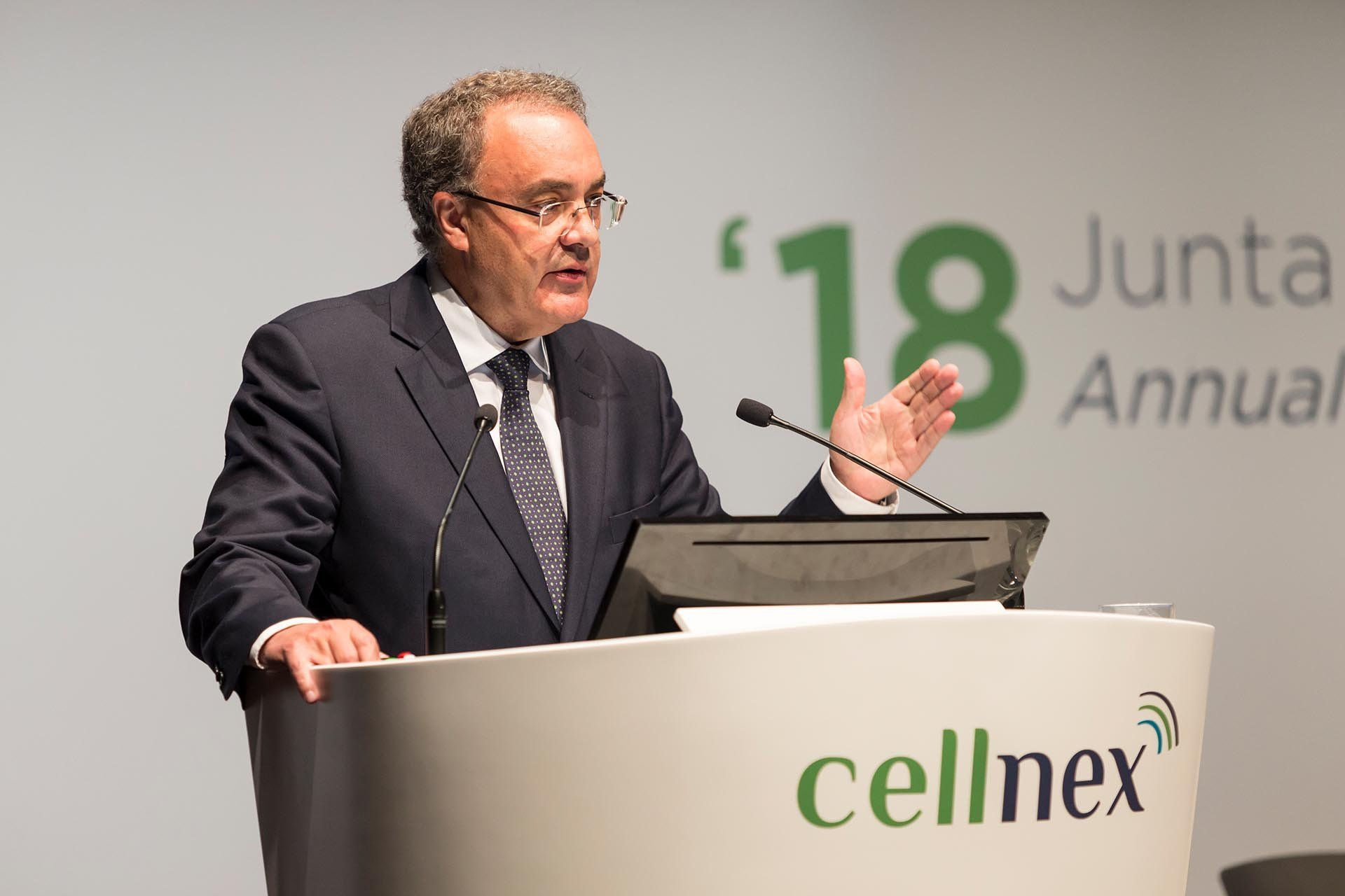 Tobías Martínez, CEO de Cellnex