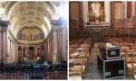 Catedral de Rennes catedral museo, catedral sala de concierto, catedral almacén