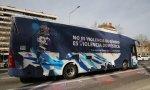Autobús de Hazte Oír, atacado Barcelona