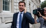 Jeremy Hunt, canciller británico