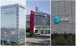 Sedes de Telefónica, Deutsche Telekom y AT&T
