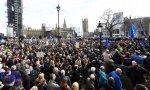 Manifestación en Reino Unido contra el Brexit