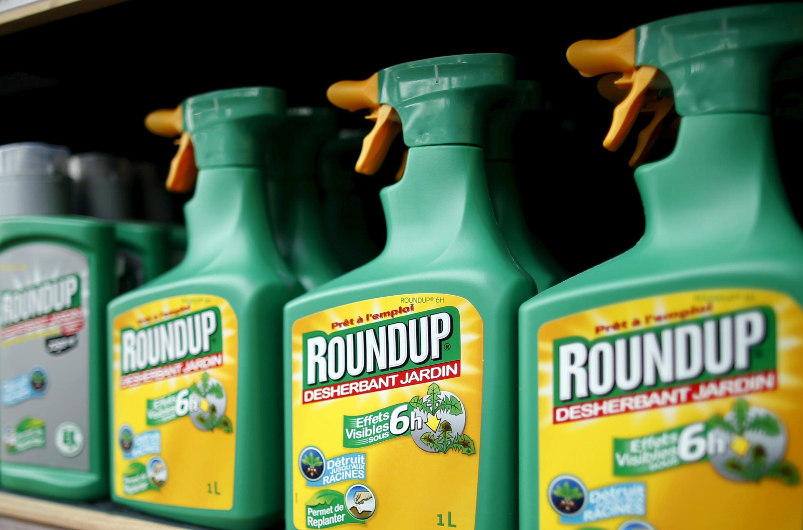 Roundup, con glifosato, peligroso para la salud