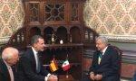 El Rey, Felipe VI, y el presidente de México, López Obrador