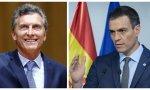 Macri y Sánchez (3)