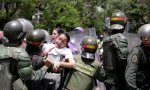 Represión a ciudadanos en Venezuela