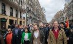 Santiago Abascal y Javier Ortega Smith en un evento en Madrid