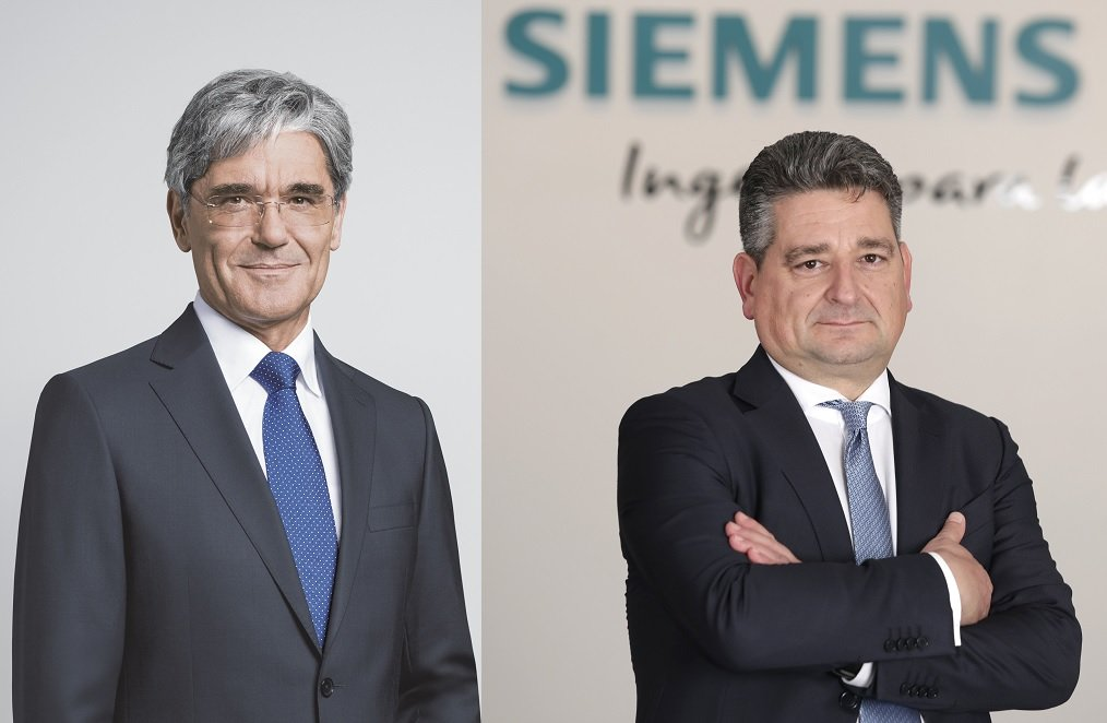 Joe Kaeser y Miguel Ángel López ocupan los cargos de presidente y CEO en Siemens y Siemens España (y también Siemens Gamesa), respectivamente