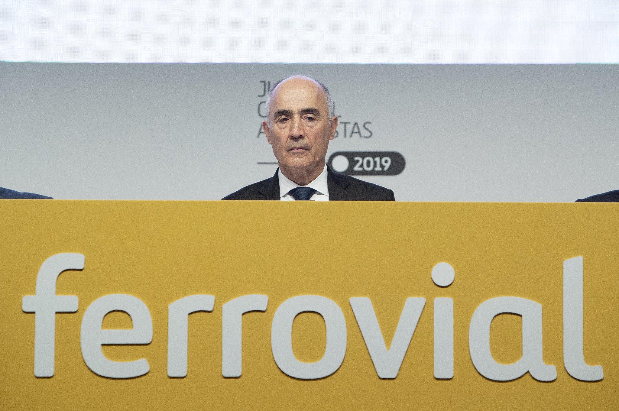 El presidente de Ferrovial, Rafael del Pino, deberá estar muy atento a la deuda de la compañía
