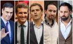 PSOE y Podemos quieren subir impuestos mientras PP, Cs y Vox quieren bajarlos