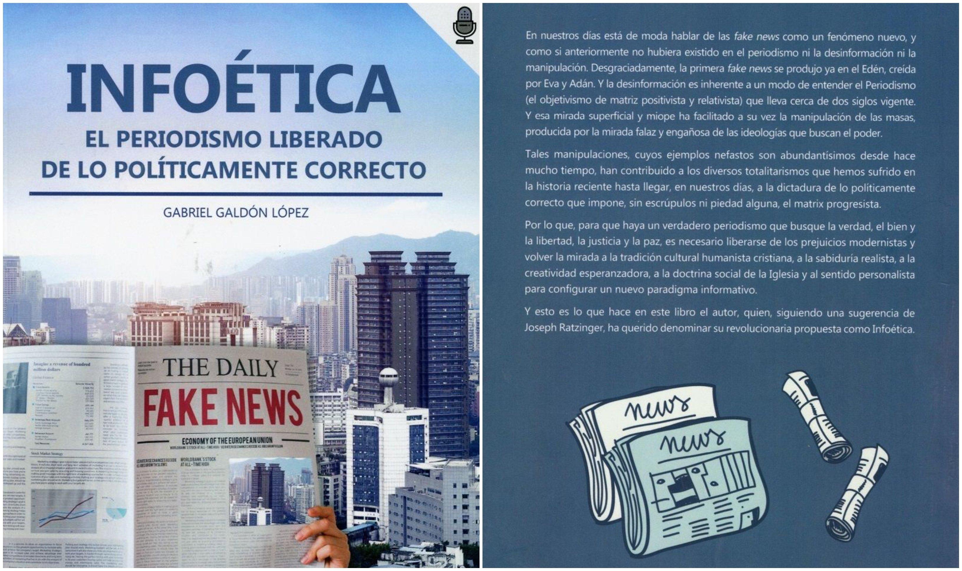 'Infoética', de Gabriel Galdón, tiene algo que decir: la verdad existe
