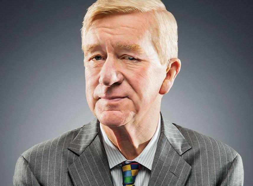 Bill Weld, del Partido Libertario, que aboga por la ideología de género