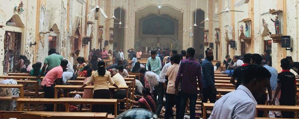 Matanza de cristianos en Sri Lanka
