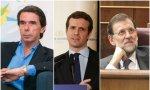 Aznar, Casado y Rajoy