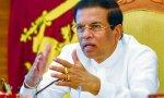 El presidente de Sri Lanka Maithripala Sirisena