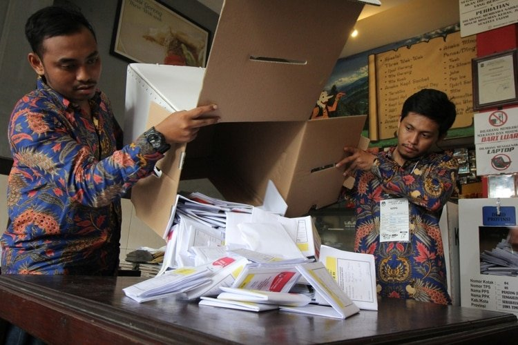 Elecciones Indonesia