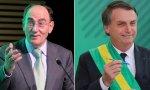 Ignacio Sánchez Galán contenta al mandatario brasileño, Jair Bolsonaro, que busca aumentar el mercado y la inversión en infraestructuras