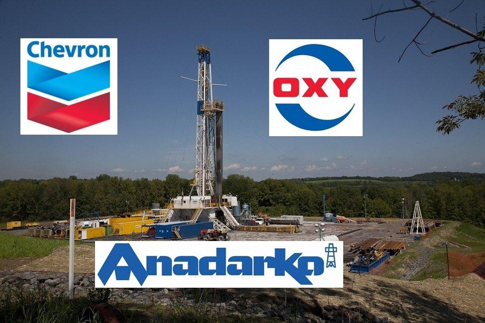 Chevron y Occidental Petroleum pujan por hacerse con Anadarko Petroleum
