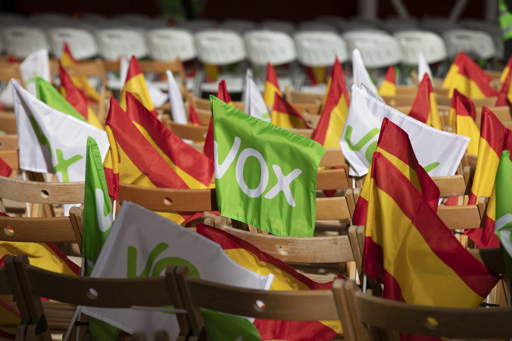 Vox, a favor de la legítima defensa