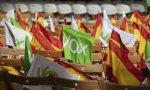 El porcentaje de votos de Vox continúa cae