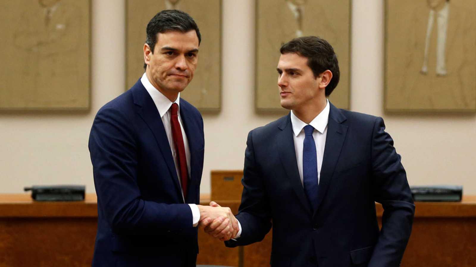 La negativa al bloqueo de Miquel Iceta como senador pone el solfa todas las negativas de Albert Ribera de pactar con Pedro Sánchez