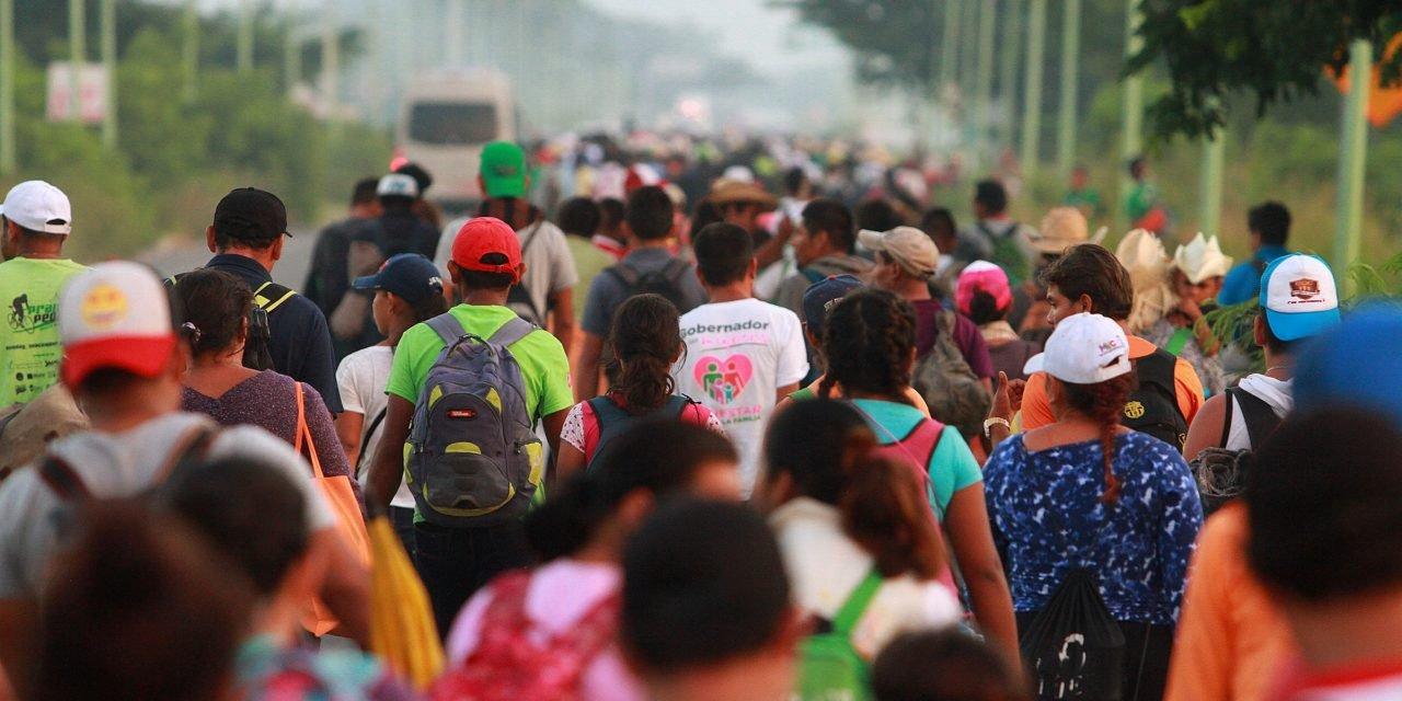 Caravana de migrantes hacia EE.UU.