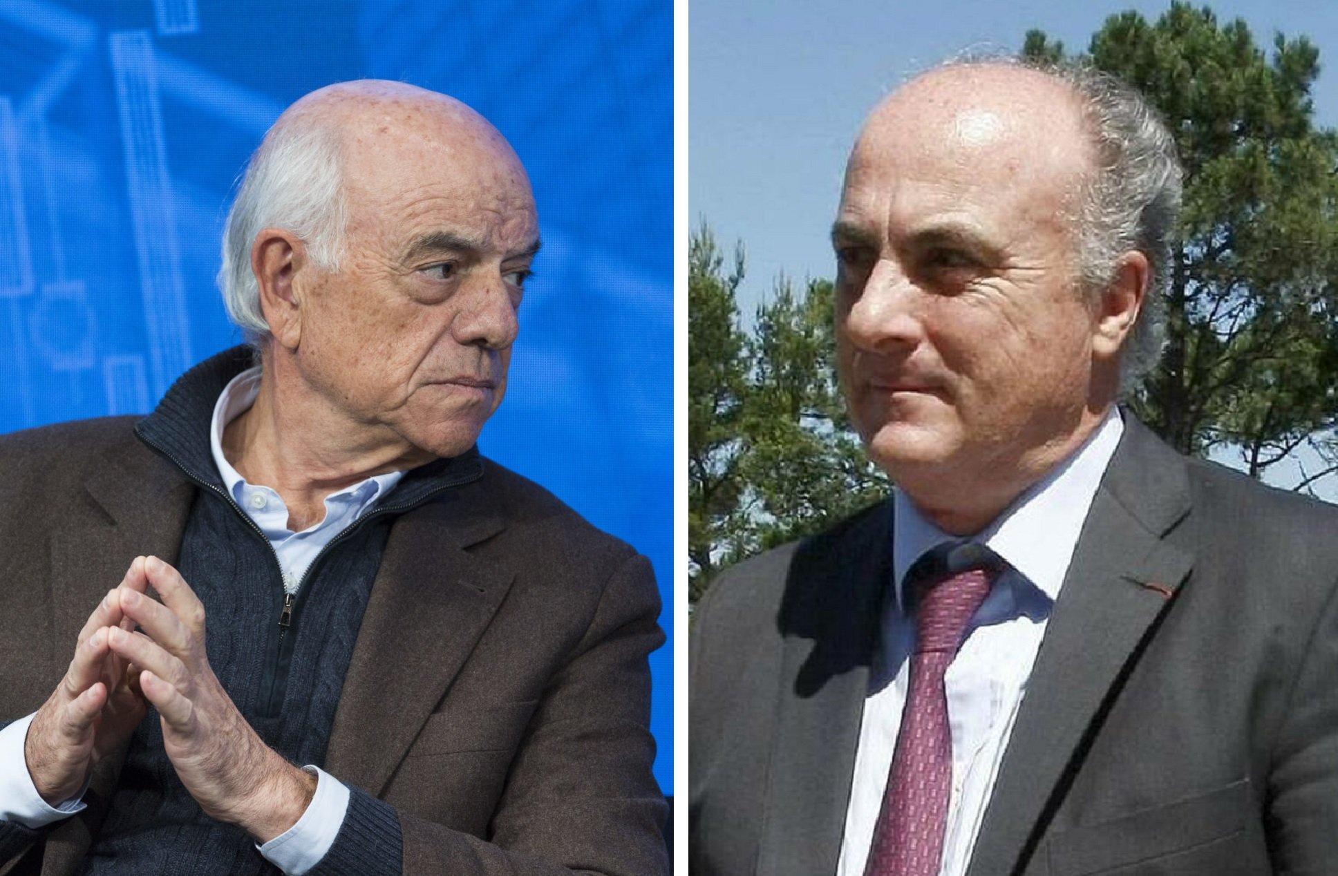 El juez Manuel García-Castellón (derecha) prepara el archivo del caso FG-Villarejo