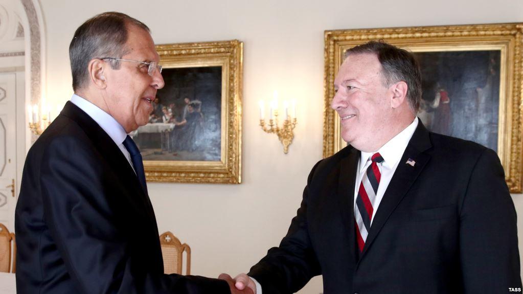 Lavrov y Pompeo