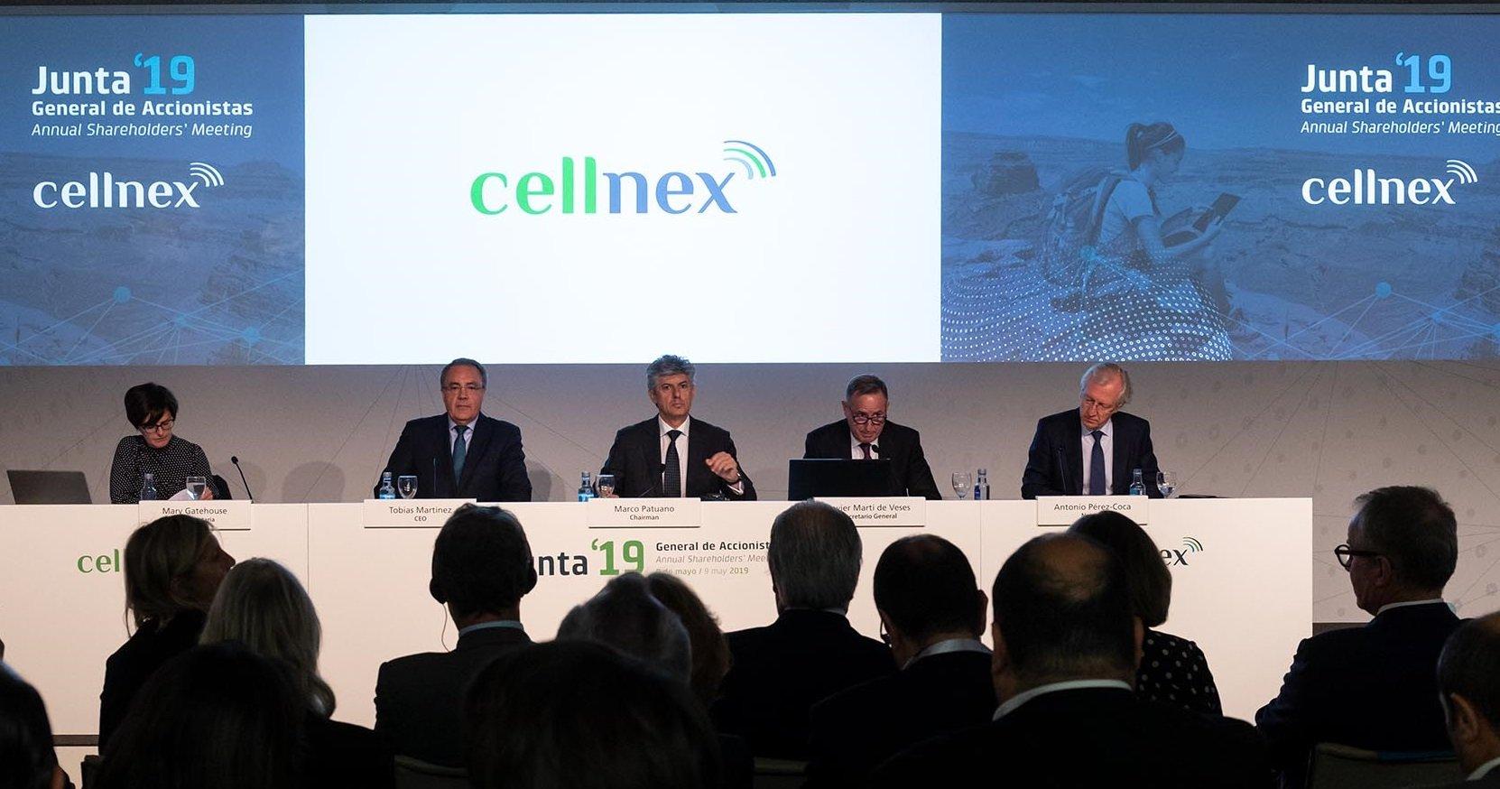 Marco Patuano, 'chairman', y Tobías Martínez, CEO, logran el apoyo de los accionistas a su estrategia en Cellnex