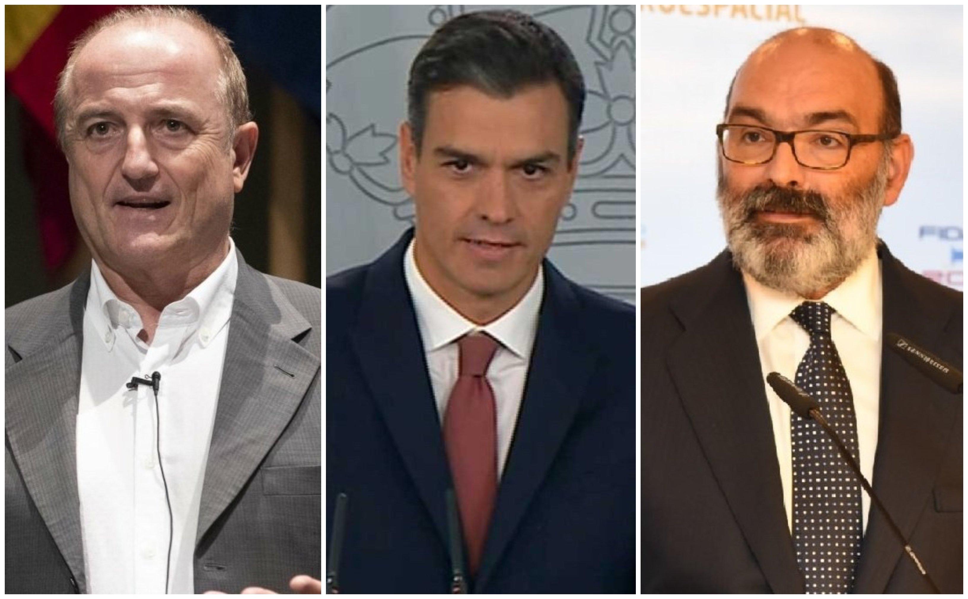 Pedro Sánchez quiere a Miguel Sebastián en la Presidencia en sustitución de Abril-Martorell