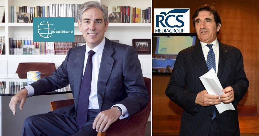 Antonio Fernández-Galiano (Unidad Editorial) puede presumir de ir algo mejor que la matriz (RCS MediaGroup), que dirige Urbano Cairo