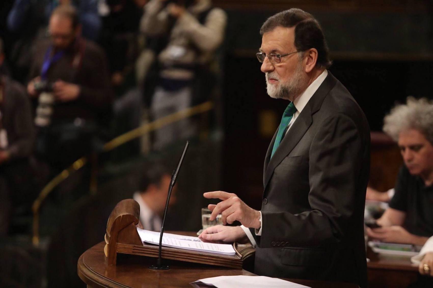 Debate sobre el Estado de la Nación. Rajoy y su discurso fallido, más engreído que nunca, más pétreo que nunca