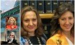 Marta y Cristina Álvarez Guil y Maria Antonia Álvarez y César Areces