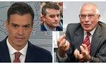 Sánchez, Borrell y Redondo