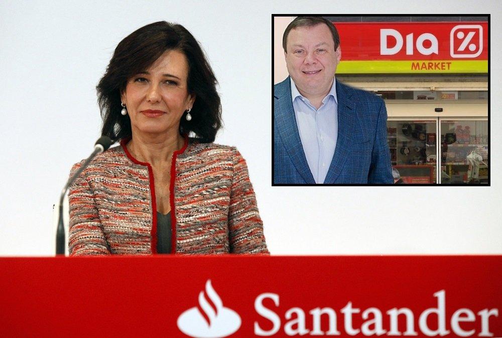 Ana Botín (Santander) es la única que aún no respalda el plan de Mikhail Fridman (LetterOne) el DIA