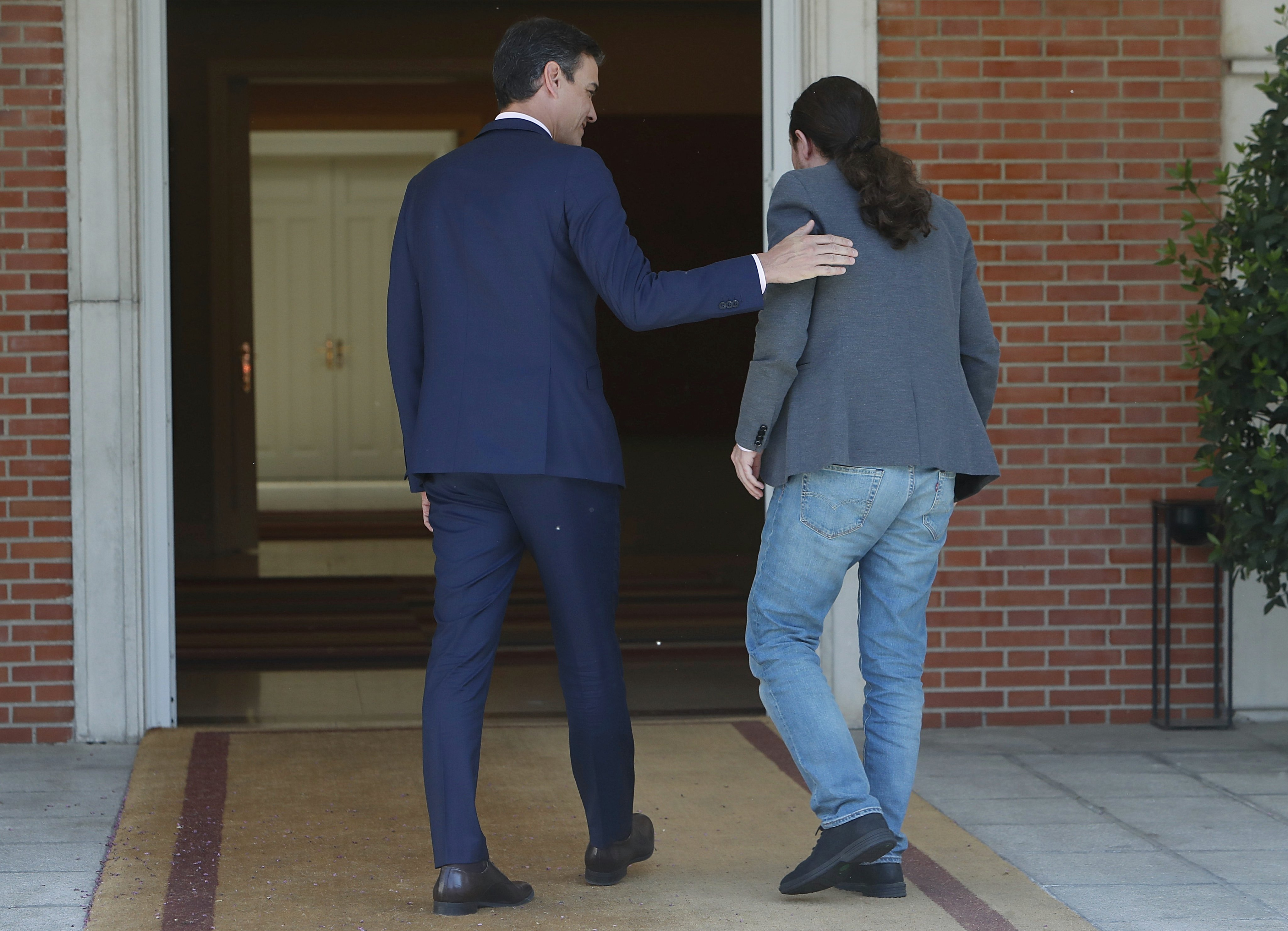 Pedro Sánchez y Pablo Iglesias, los señores del caos